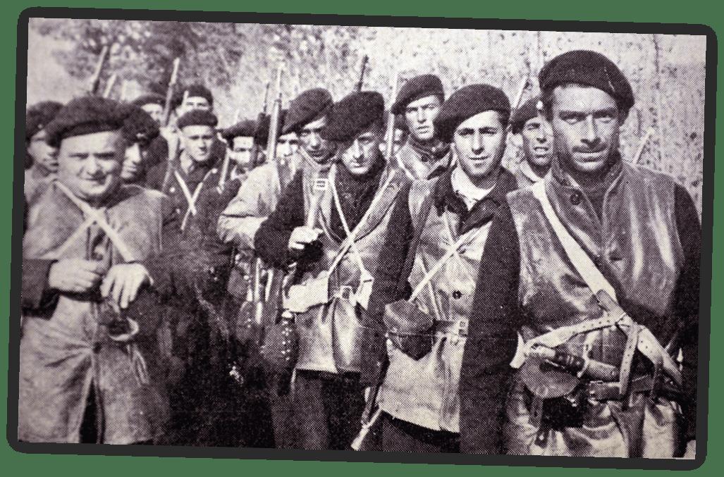 Soldados de las brigadas internacionales