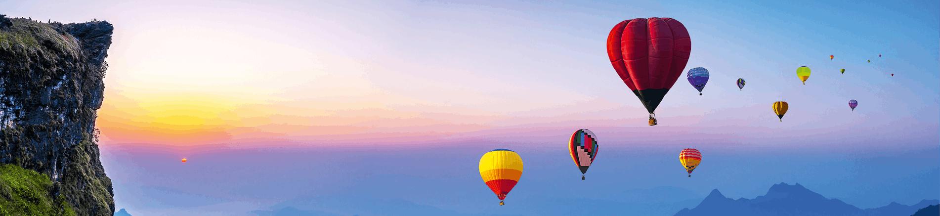 Caractéristiques de la montgolfière