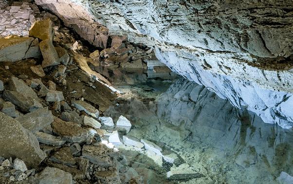 Siphon naturel
