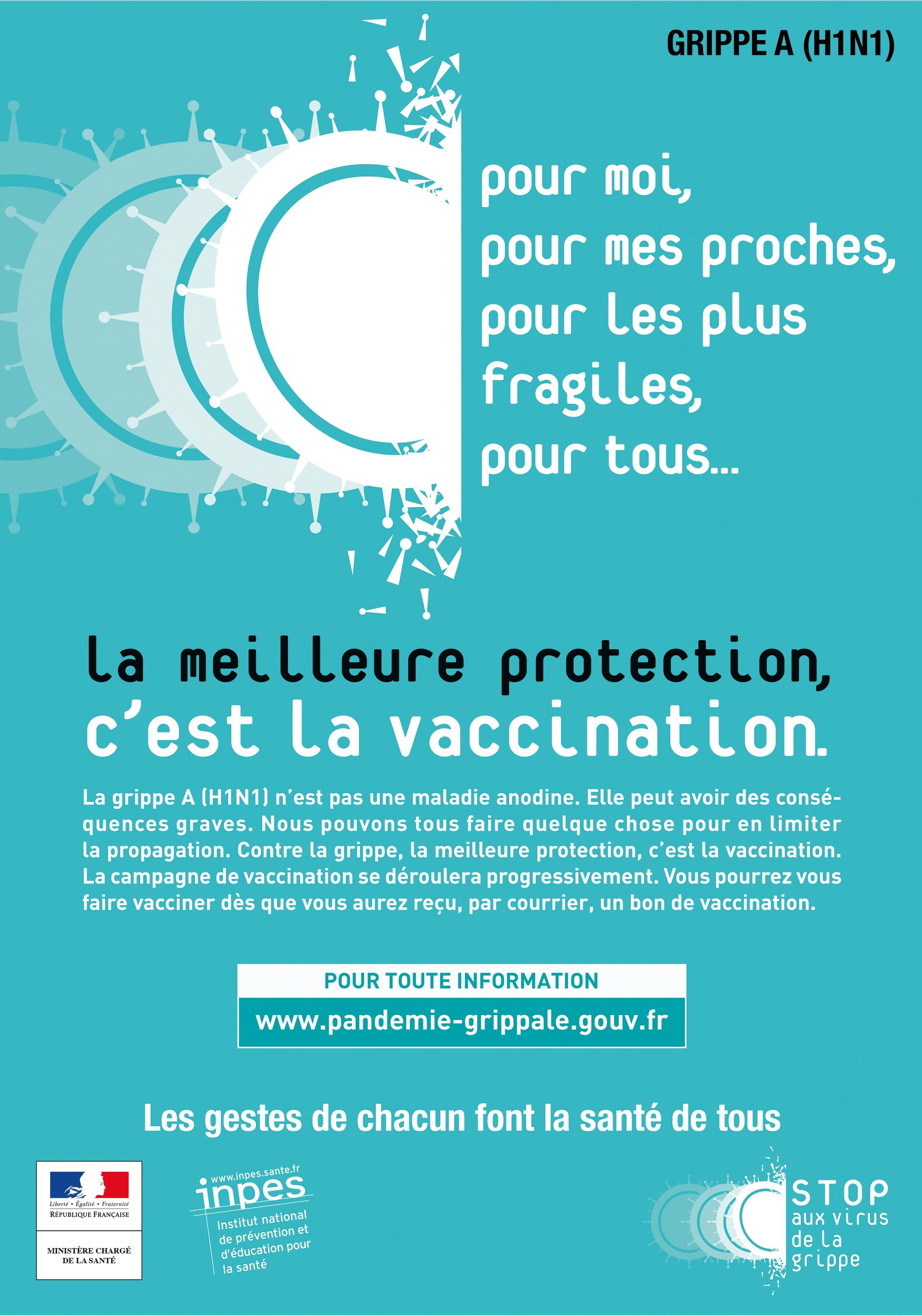 <stamp theme='svt-green1'>Doc. 2</stamp> Une campagne de vaccination contre la grippe, France, 2009.