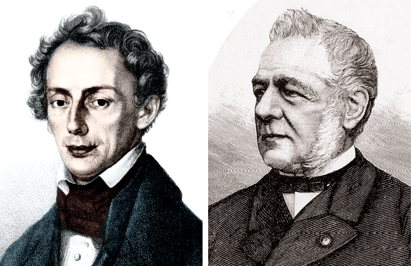 Christian Doppler et Christoph Buys-Ballot