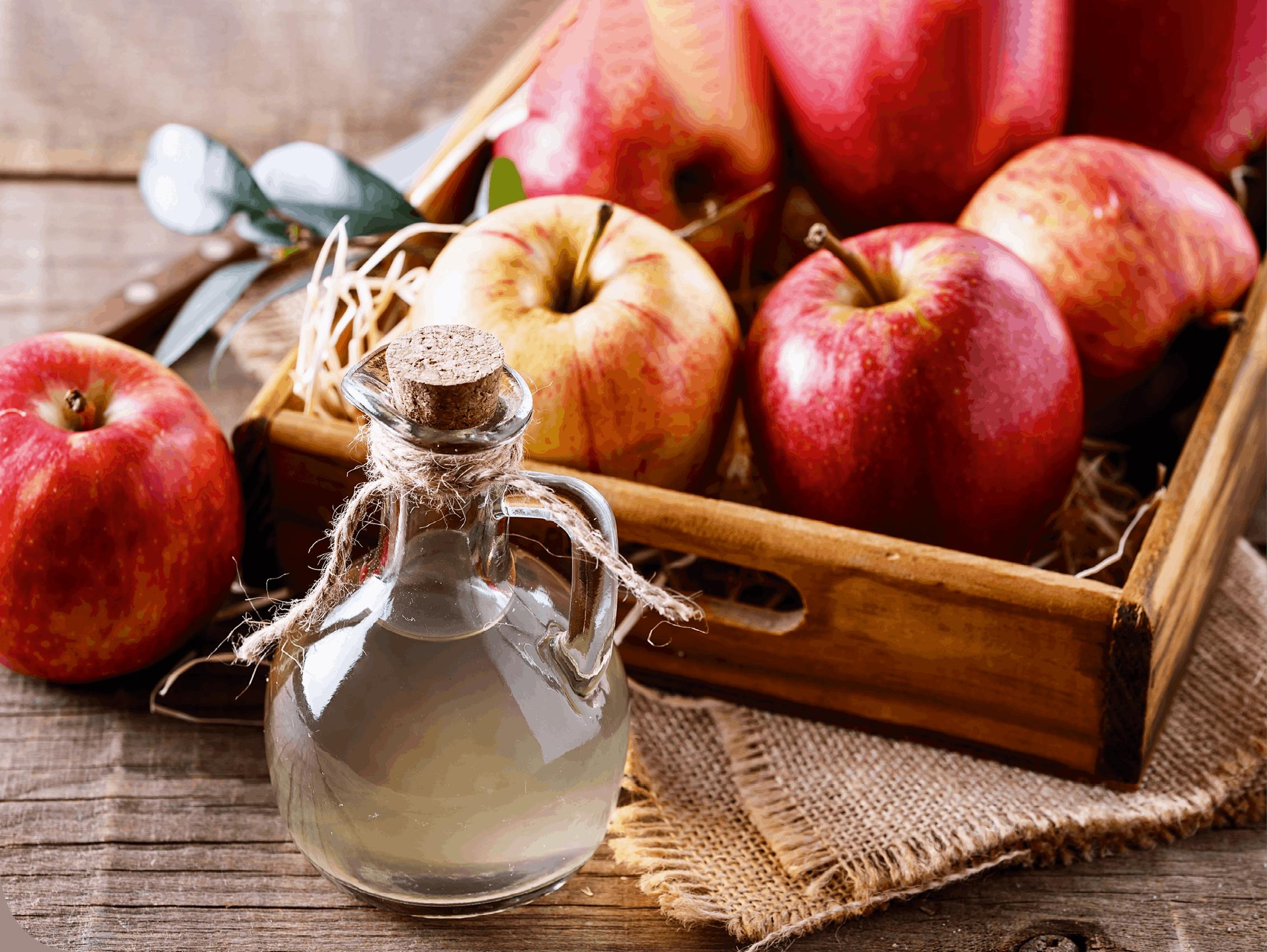 L'acide présent dans nos aliments, exemple du vinaigre