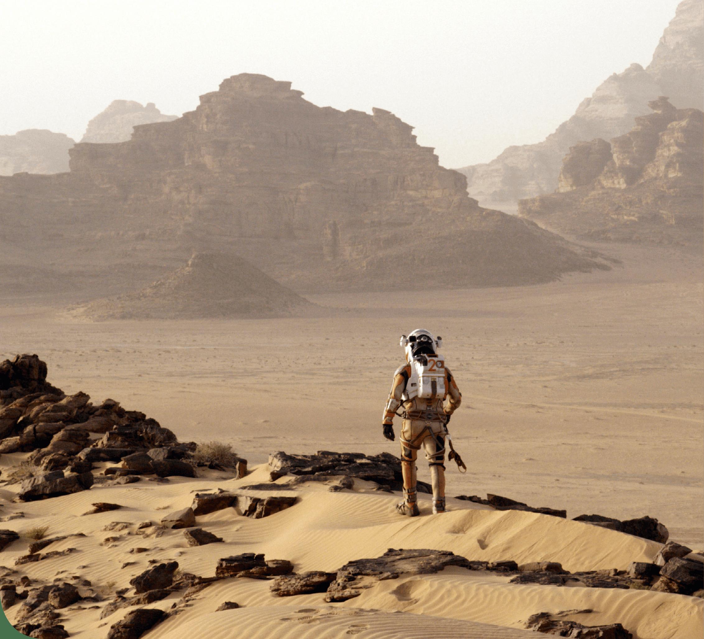 Mouvement dans un champ de gravitation - Mars - Ouverture