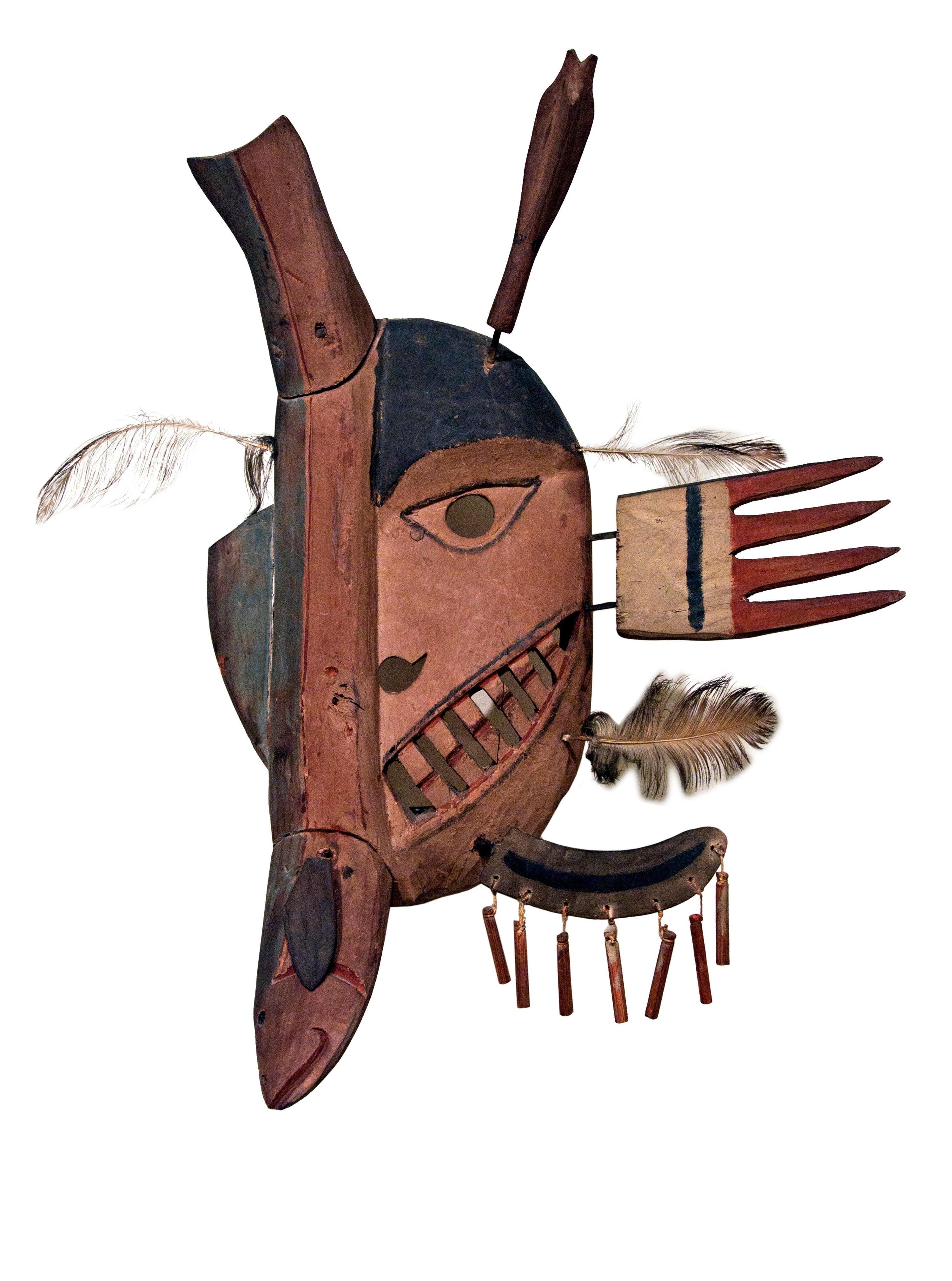 Yupi'k Fish Mask