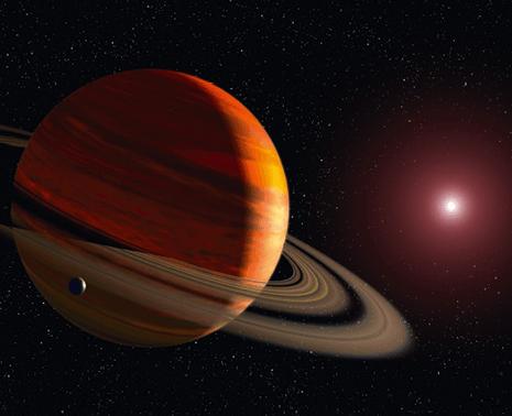 Détection d'une exoplanète