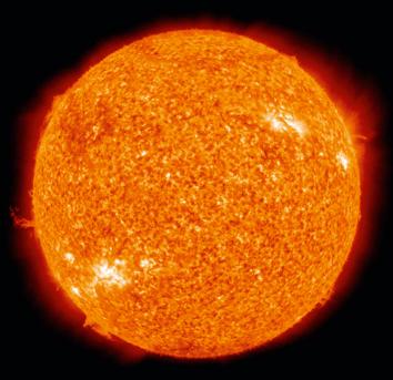 Vitesse de rotation du Soleil