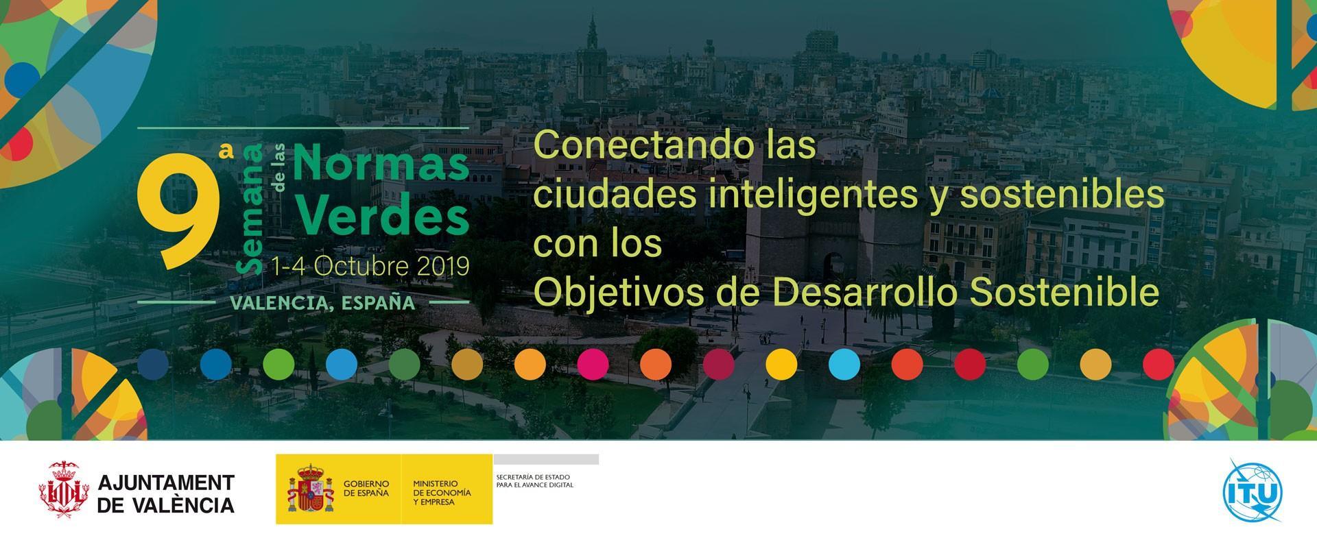 Cartel para la Semana de las Normas Verdes, Ayutamiento de Valencia, 2019