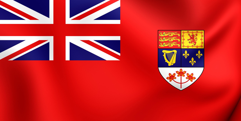 Canadian Red Ensign Flag