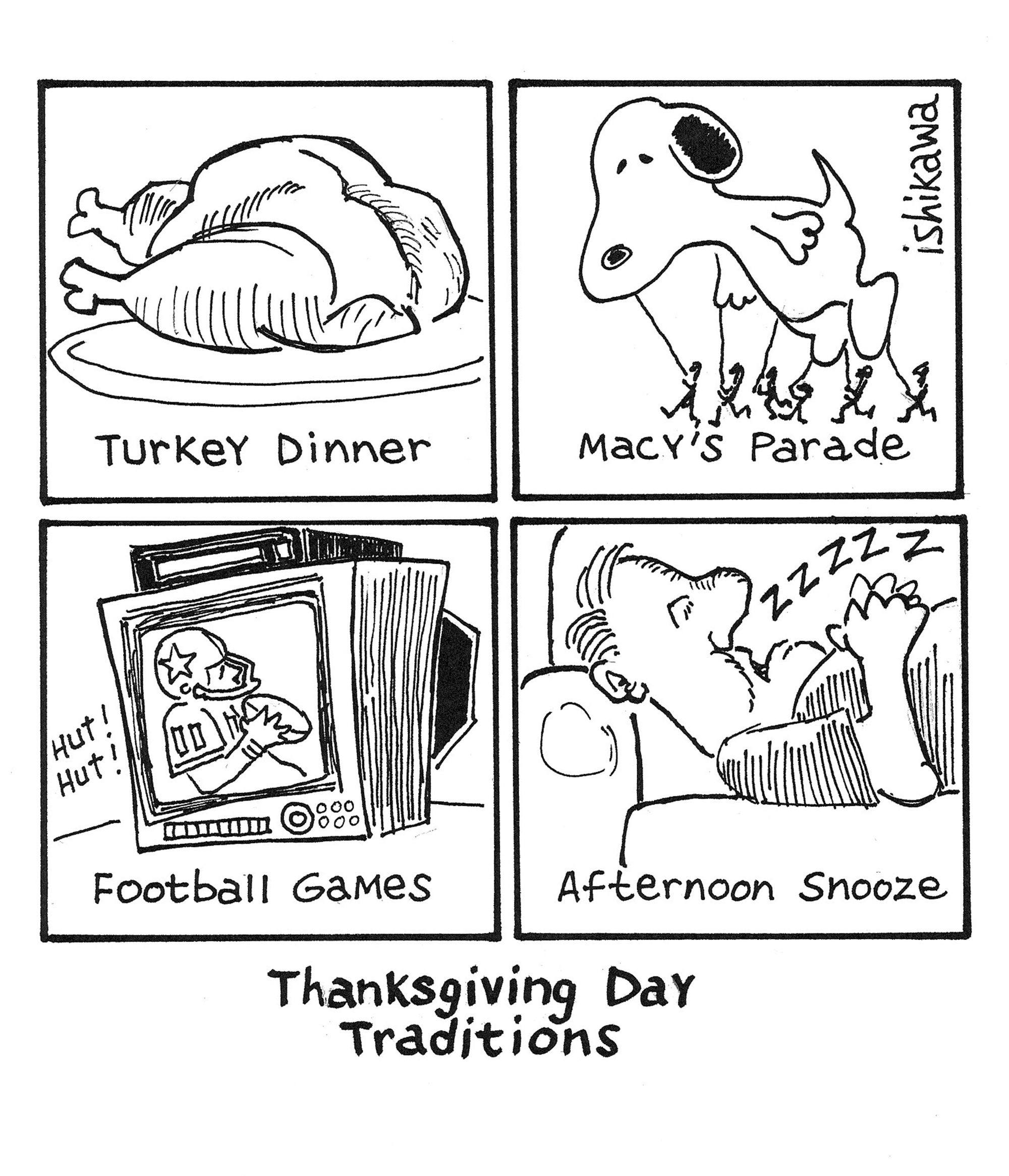Thanksgiving Day Traditions