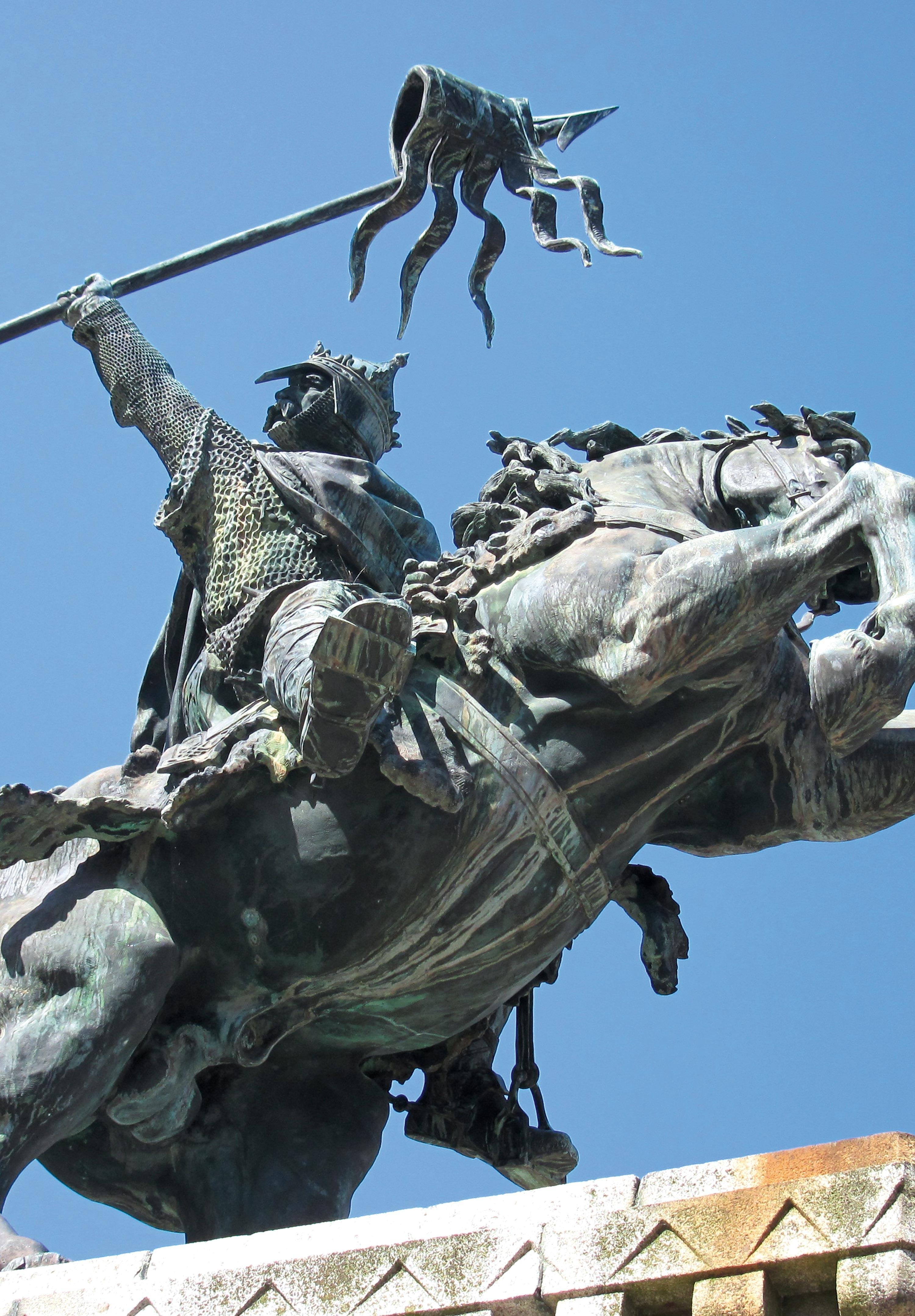 Equestrian statue of William the Conqueror