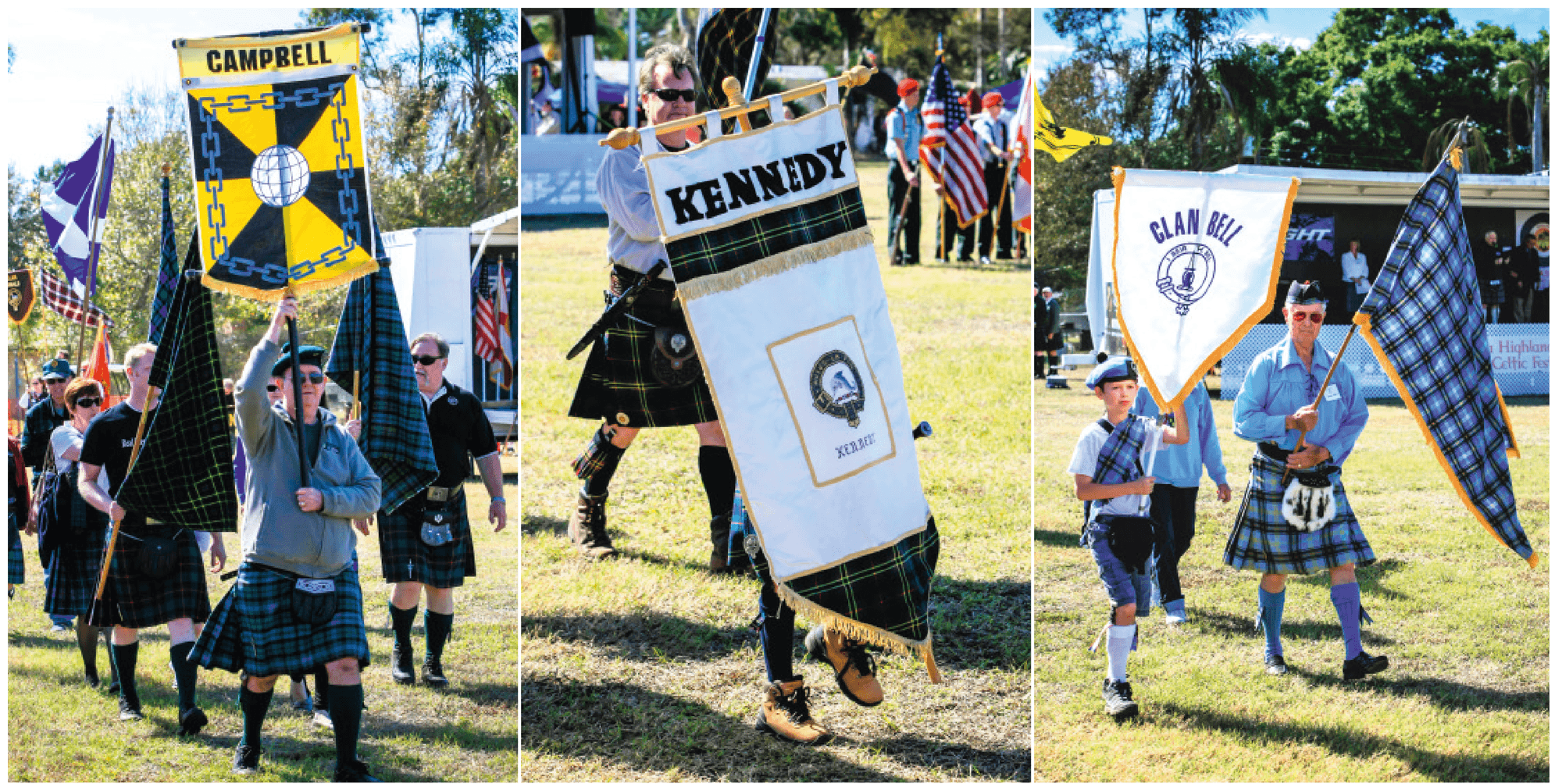 Sporting Events at the Highland Games.