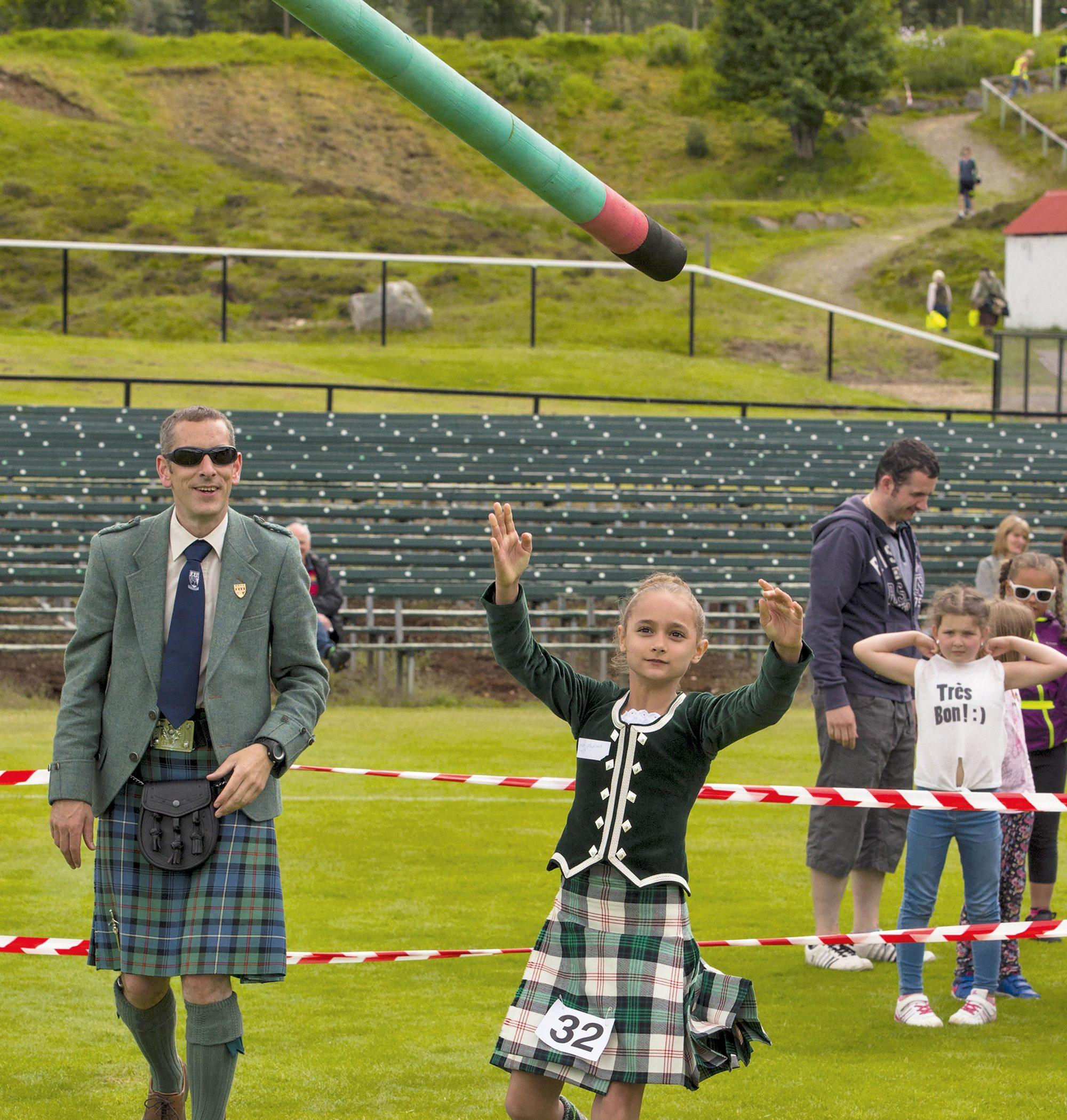 Braemar Junior Highland Games