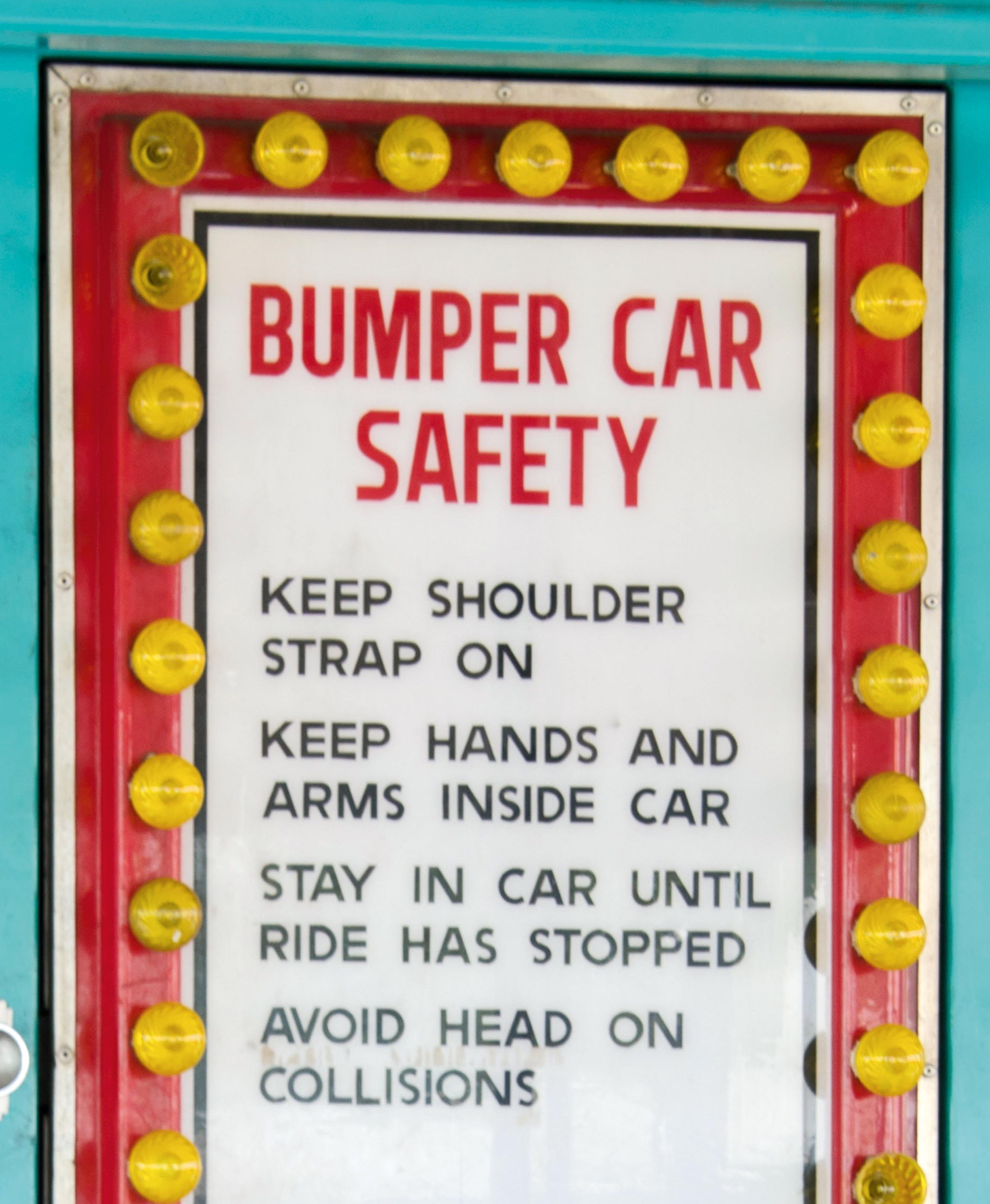 Bumper car safety