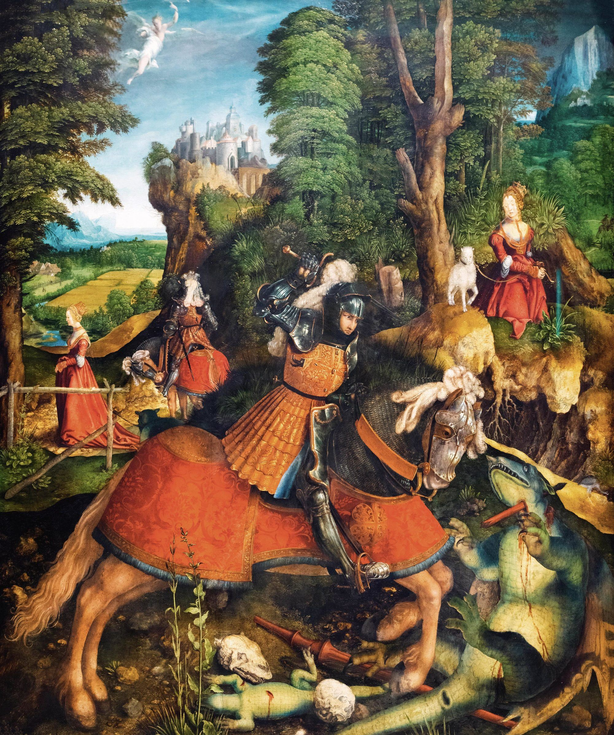 Saint George and the Dragon by Beck