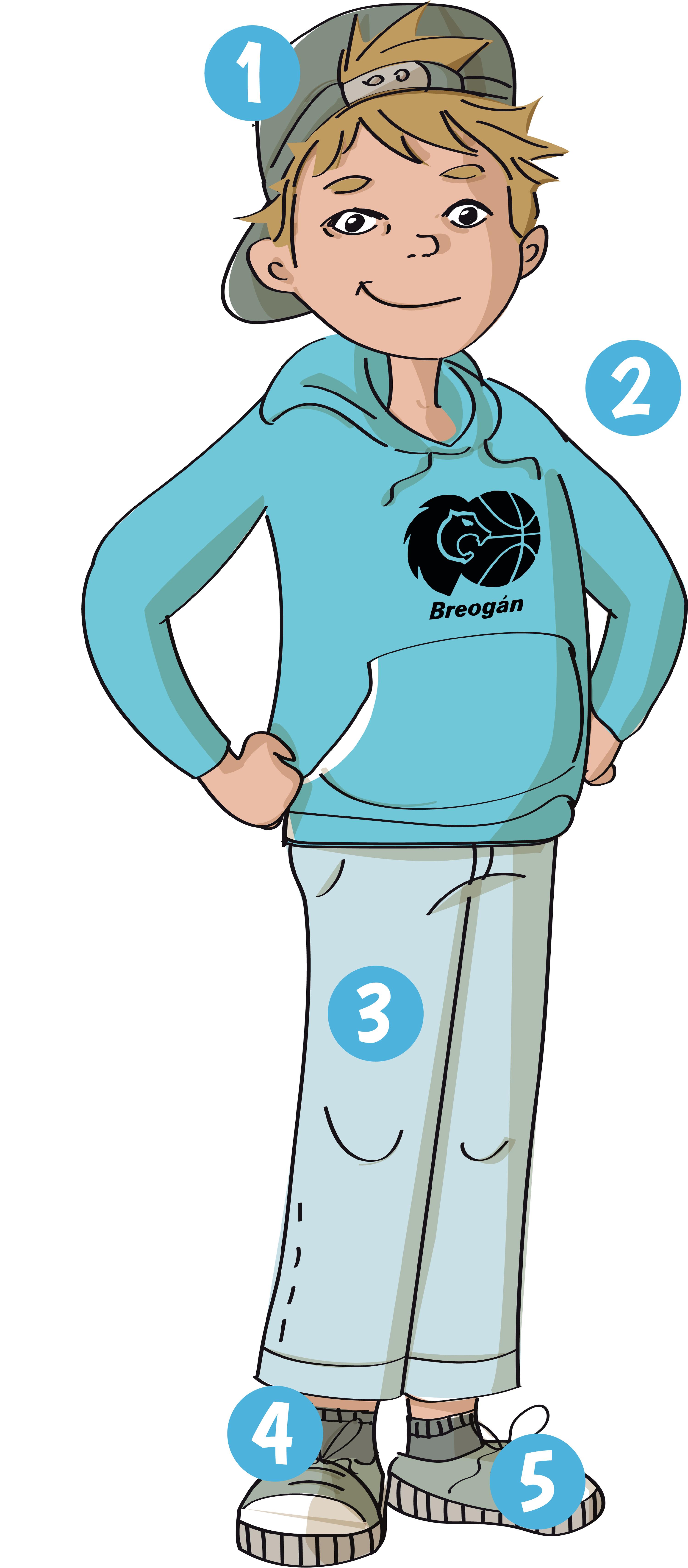 La ropa de Alfonso
