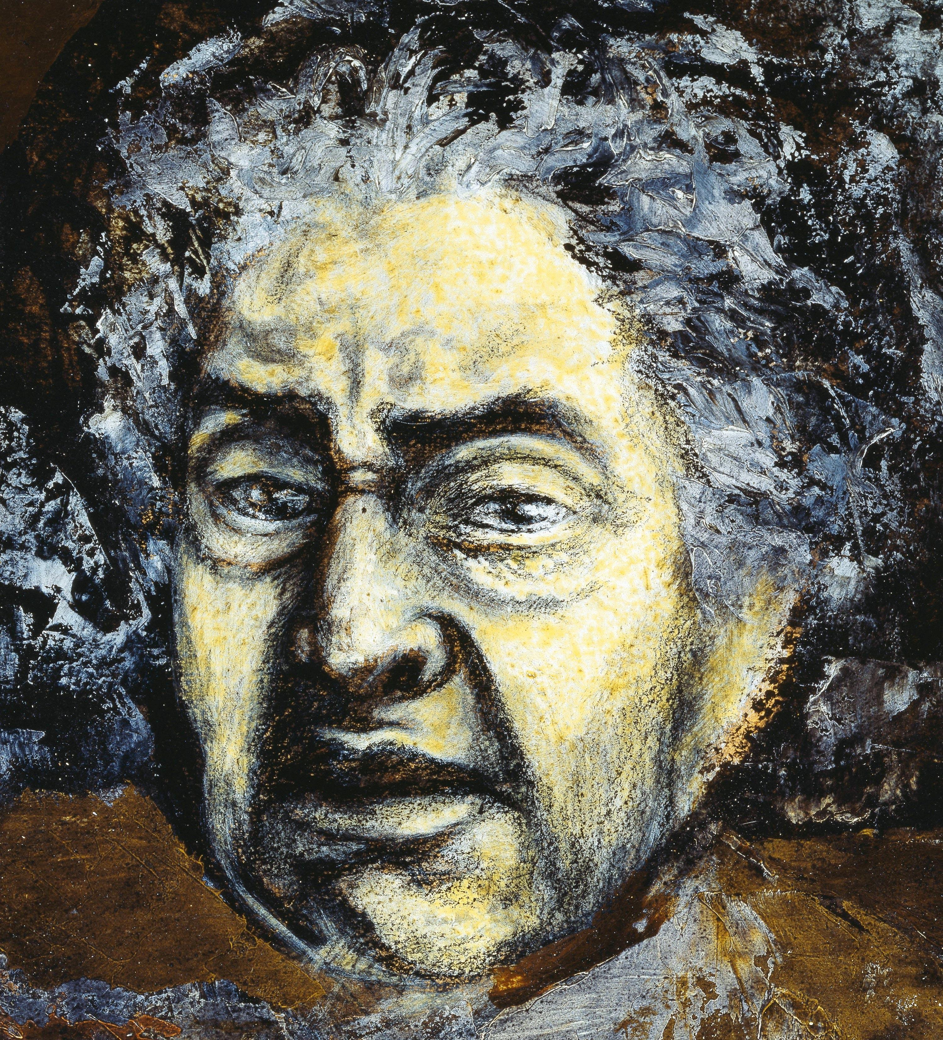 David Alfaro Siqueiros, Autorretrato, 1953.