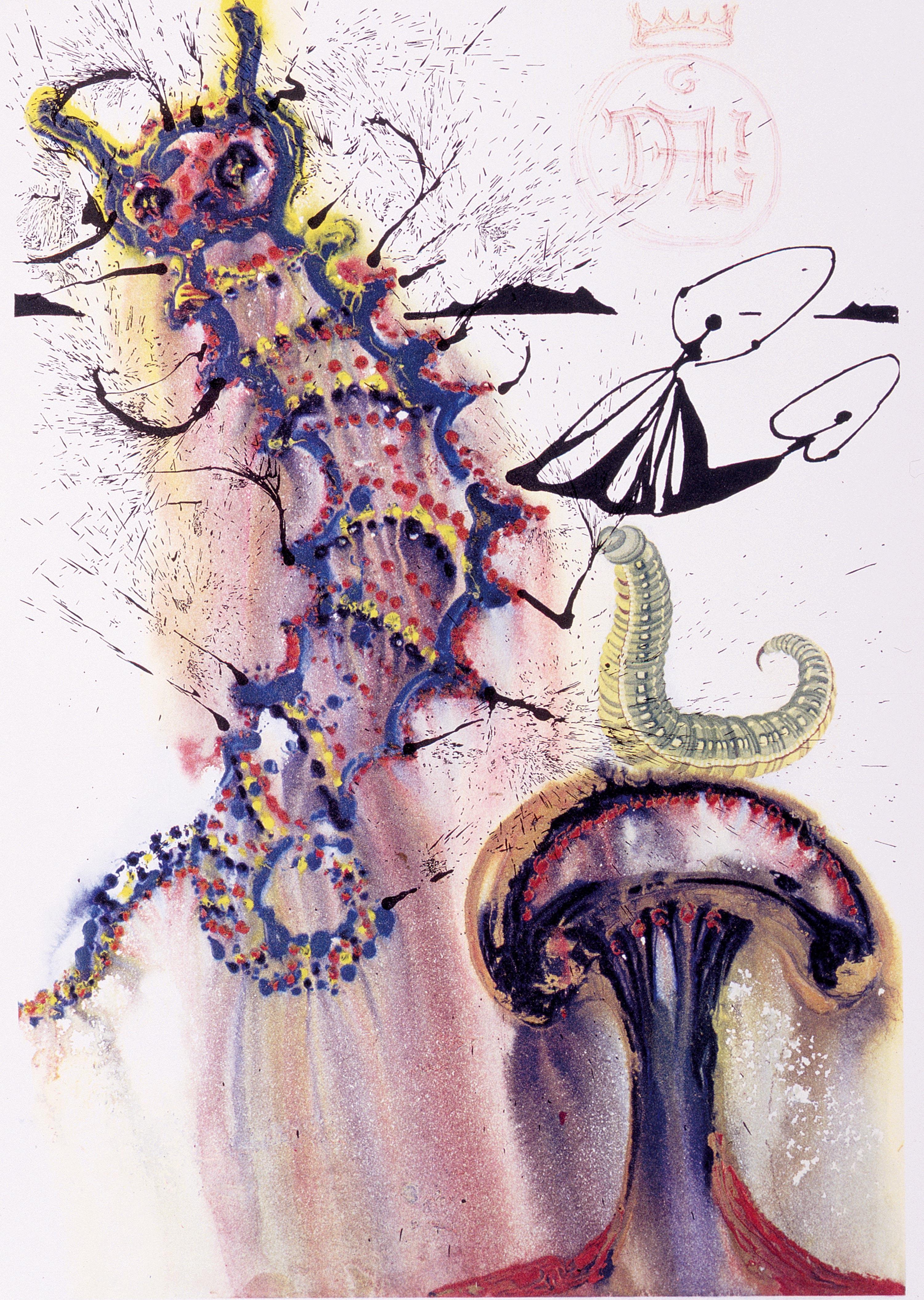 Alicia en el País de las Maravillas, Dalí