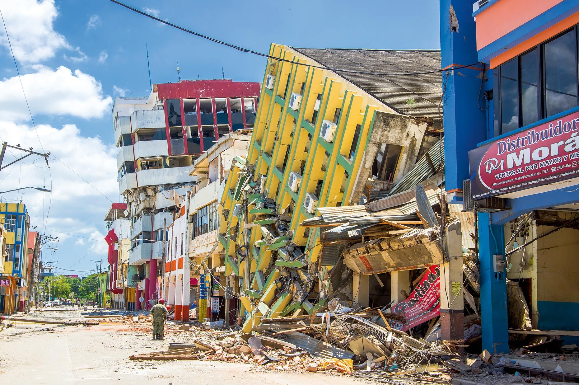 <stamp theme='svt-green1'>Doc. 1</stamp> La résistance variable des constructions aux séismes.