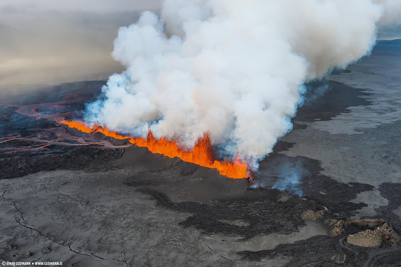 <stamp theme='svt-green1'>Doc. 5</stamp> L'éruption du Bárðarbunga en 2014