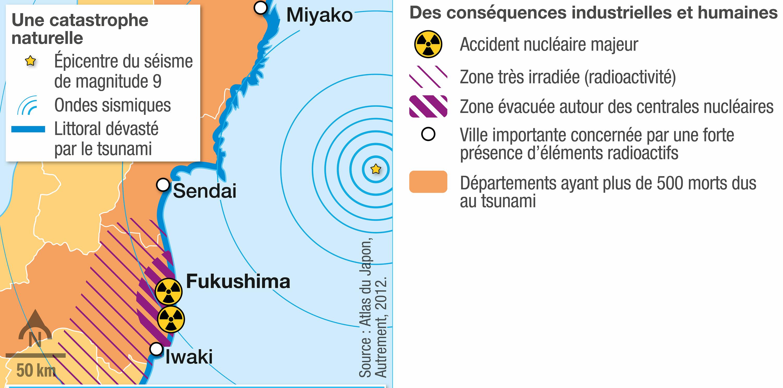 <stamp theme='svt-green1'>Doc. 6</stamp> Les dégâts causés par le séisme de Honshu.