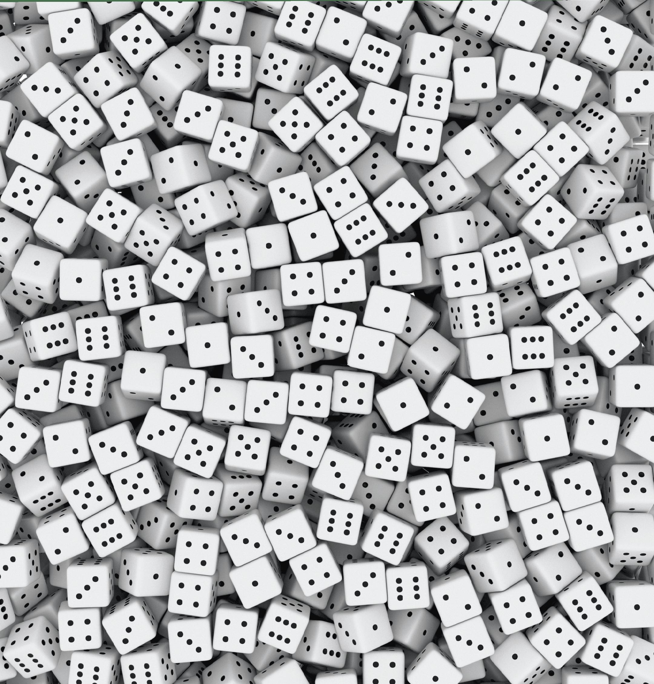 Maths spé - Chapitre 12 - Loi binomiale - ouverture - dés