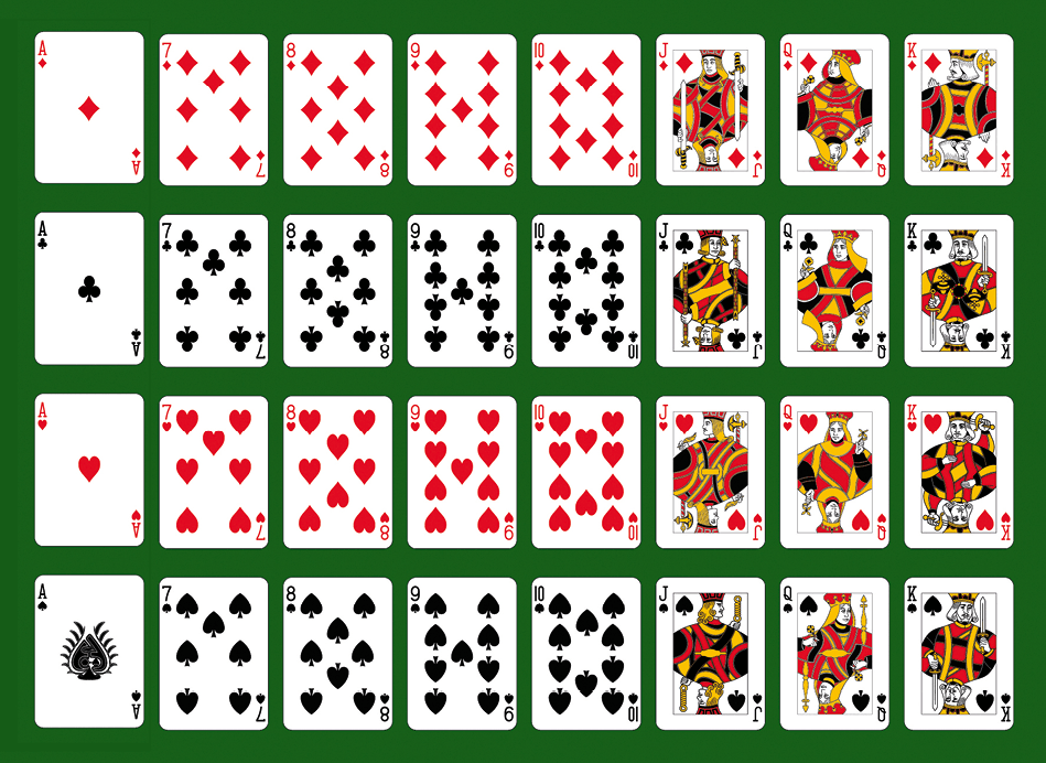 Maths spé - Chapitre 12 - Loi binomiale - activité B - jeu de 32 cartes
