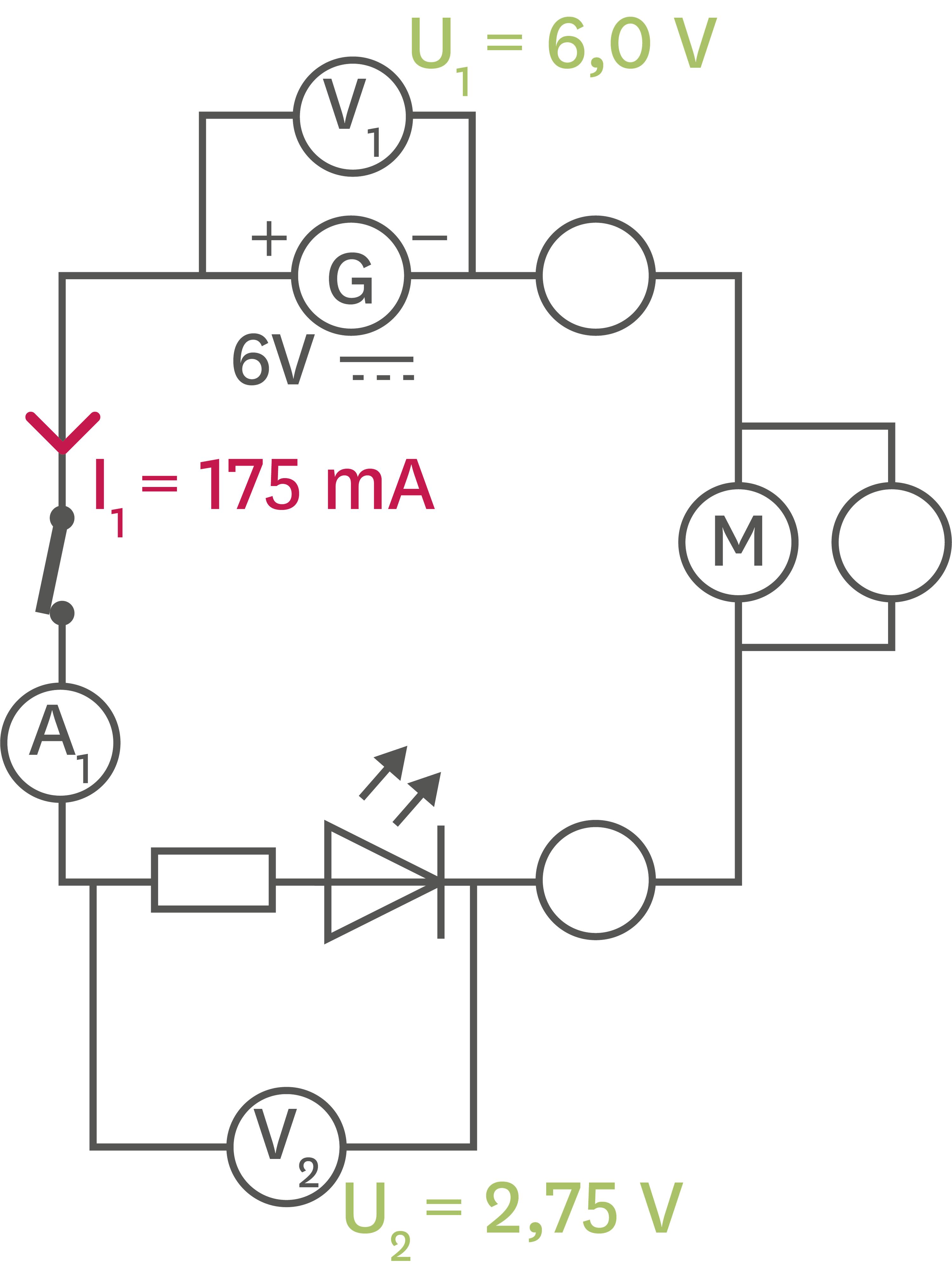 <stamp theme='pc-green1'>Doc. 4</stamp> Intensité et tension dans un circuit en série.