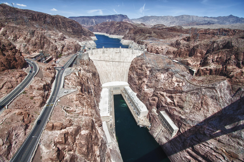 Centrale hydroélectrique Hoover, Nevada.