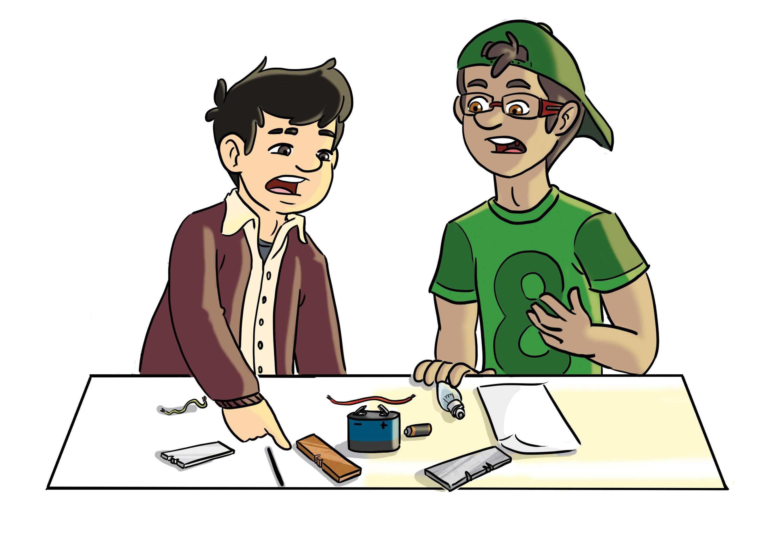 Simon et Tim