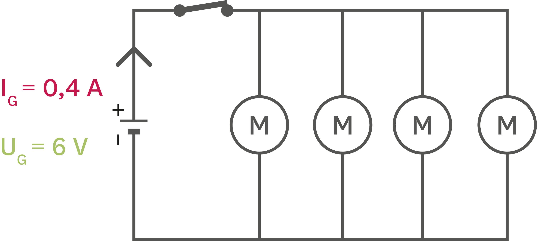 <stamp theme='pc-green1'>Doc. 4</stamp> Schéma du circuit de propulsion électrique.