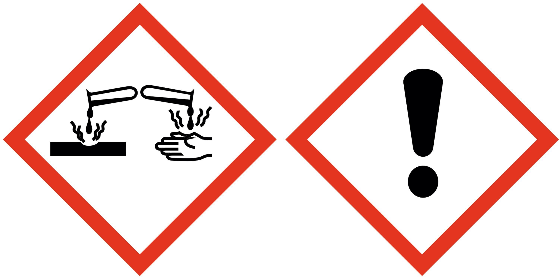 Corrosif et toxique