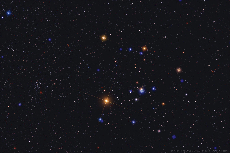 <stamp theme='pc-green1'>Doc. 1</stamp> Aldebaran, dans la constellation du Taureau.