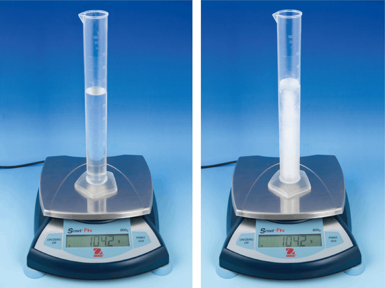 <stamp theme='pc-green1'>Doc. 2</stamp> Solidification de l'eau : étude de la masse volumique