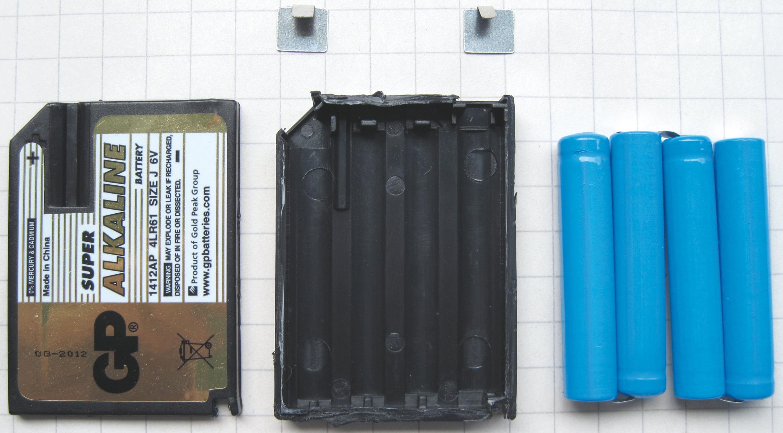 <stamp theme='pc-green1'>Doc. 2</stamp> Intérieur de piles vendues dans le commerce.