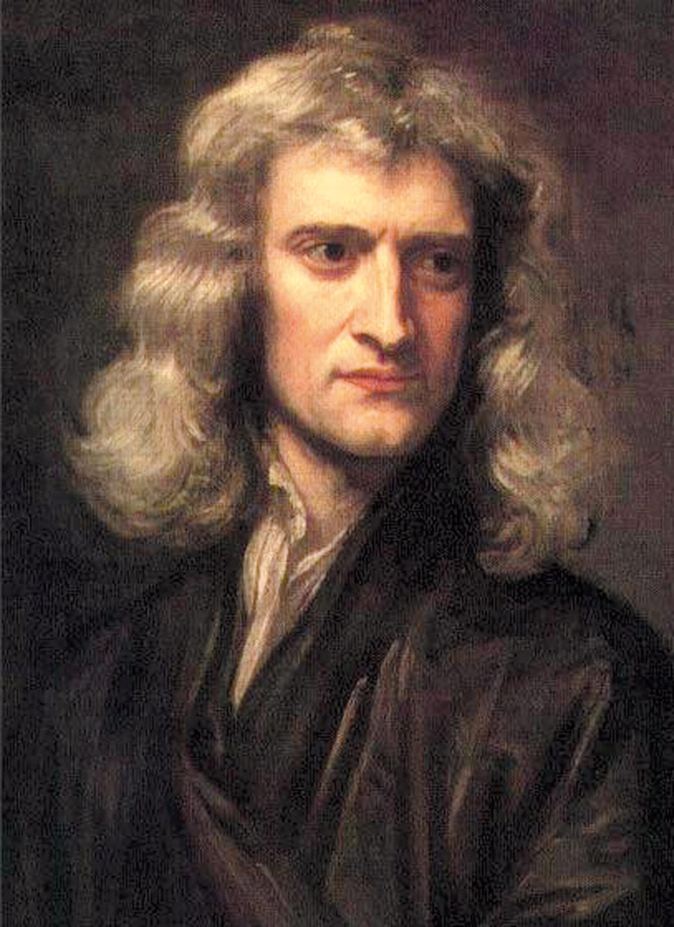 <stamp theme='pc-green1'>Doc. 1</stamp> Les apports scientifiques d'Isaac Newton (1642-1727).