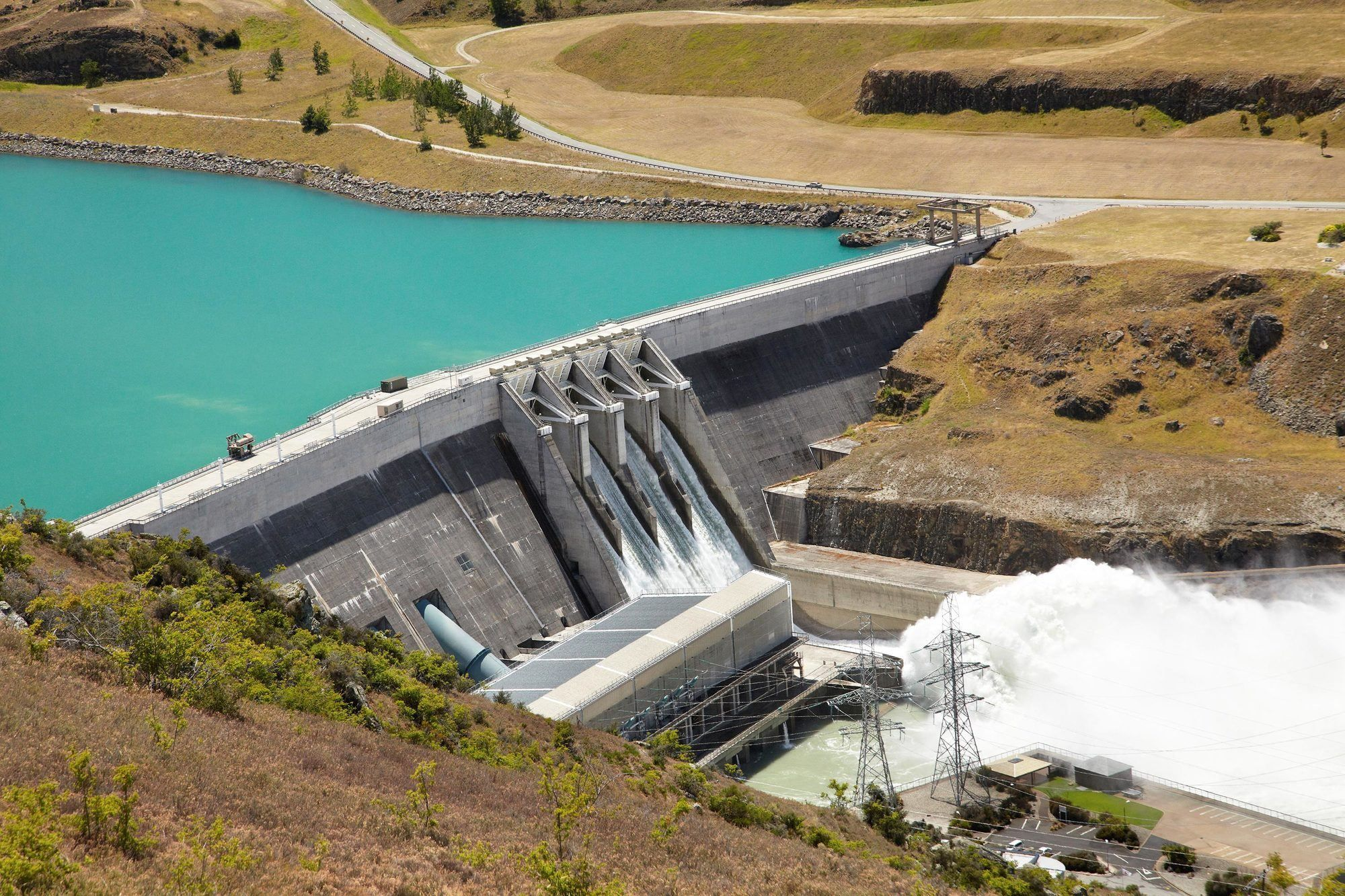 Le barrage de Clyde