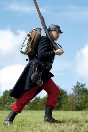 Uniforme de l'infanterie métropolitaine française