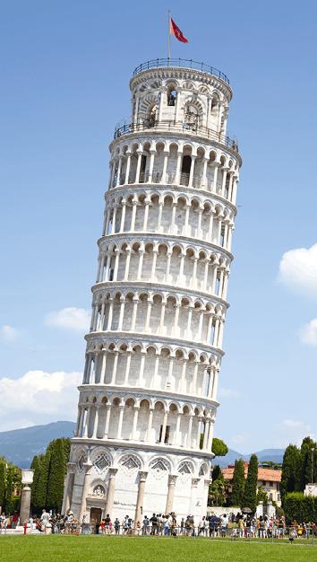 PC - chapitre 19 - Lunette astronomique - exercice 15 - La tour de Pise
