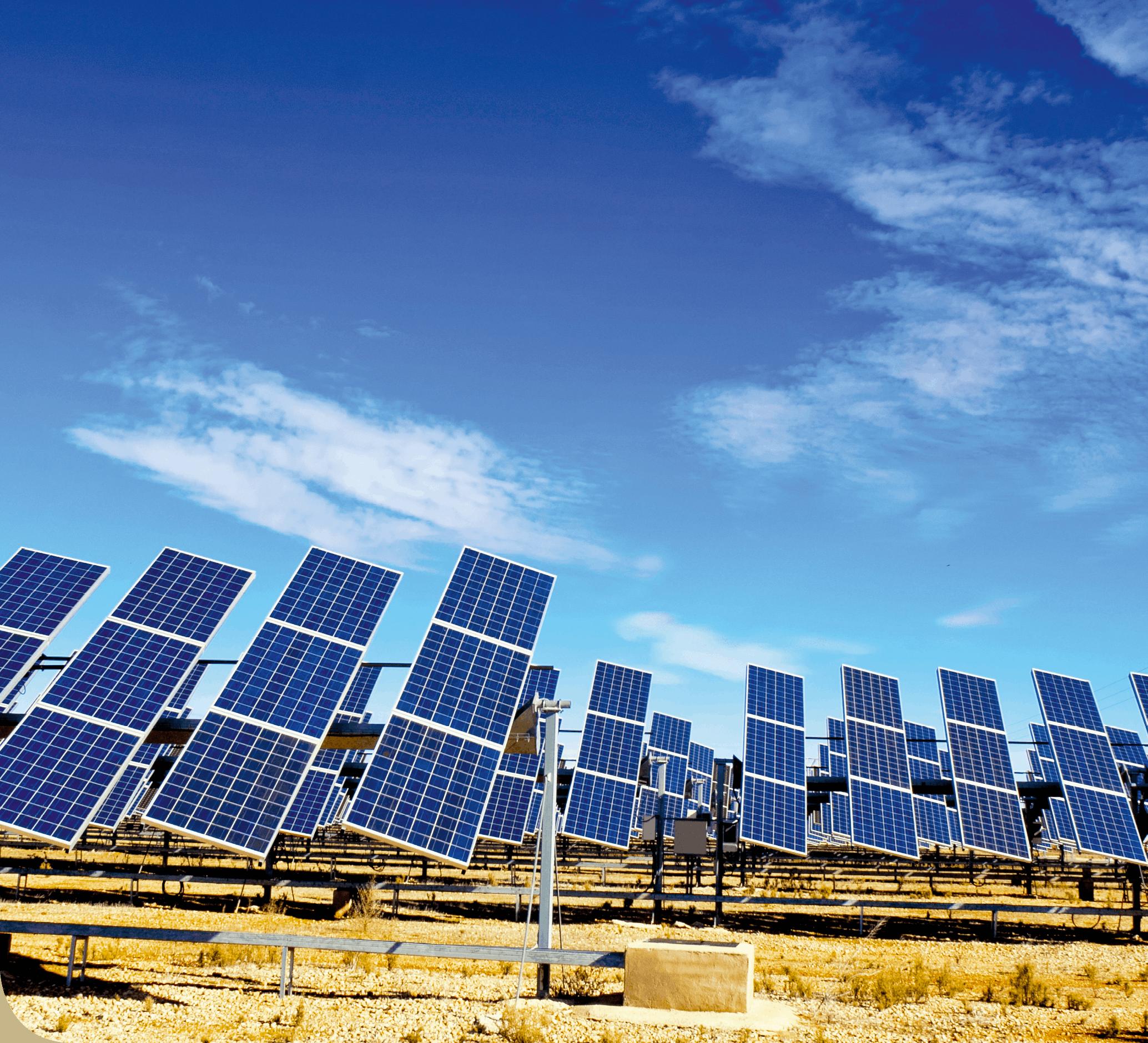 PC - chapitre 20 - Champ de panneaux solaires dans une région très ensoleillée
