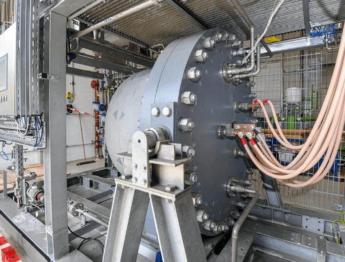 Électrolyseur à production de dihydrogène
