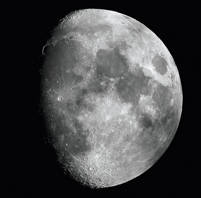 PC - chapitre 19 - Lunette astronomique - exercice corrigé - Lune