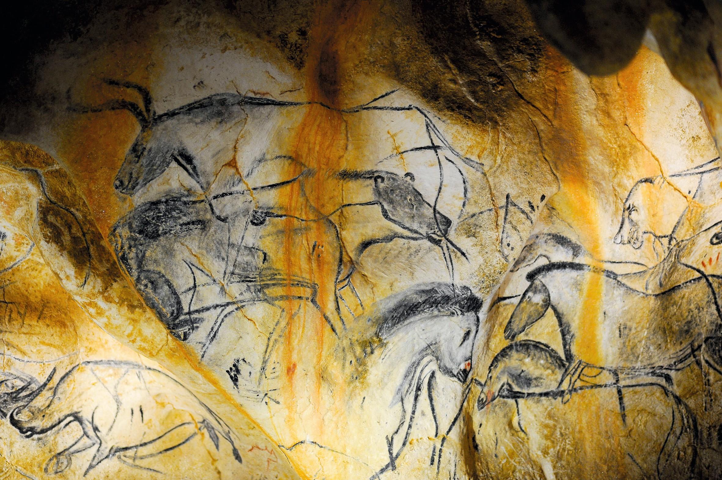Maths spé - Exercices transversaux - exercice 40 - peintures rupestres