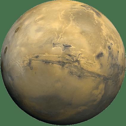 Température sur Mars