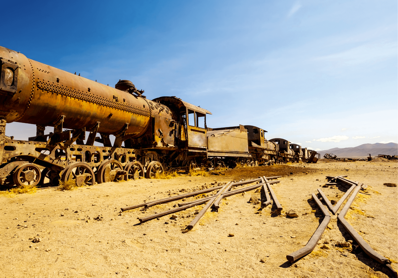 Train rouillé