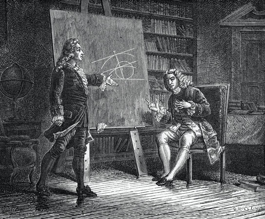 Math spécialité - Histoire des mathématiques - Probabilités - Jean et Jacques Bernoulli travaillant sur des problèmes géométriques