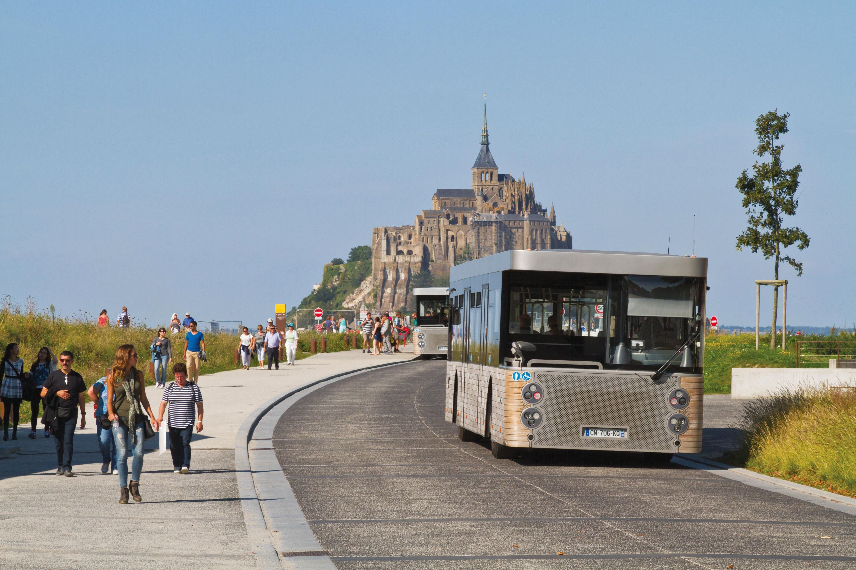 <stamp theme='his-green2'>Doc. 2</stamp> Un nouvel accès pour le Mont-Saint-Michel