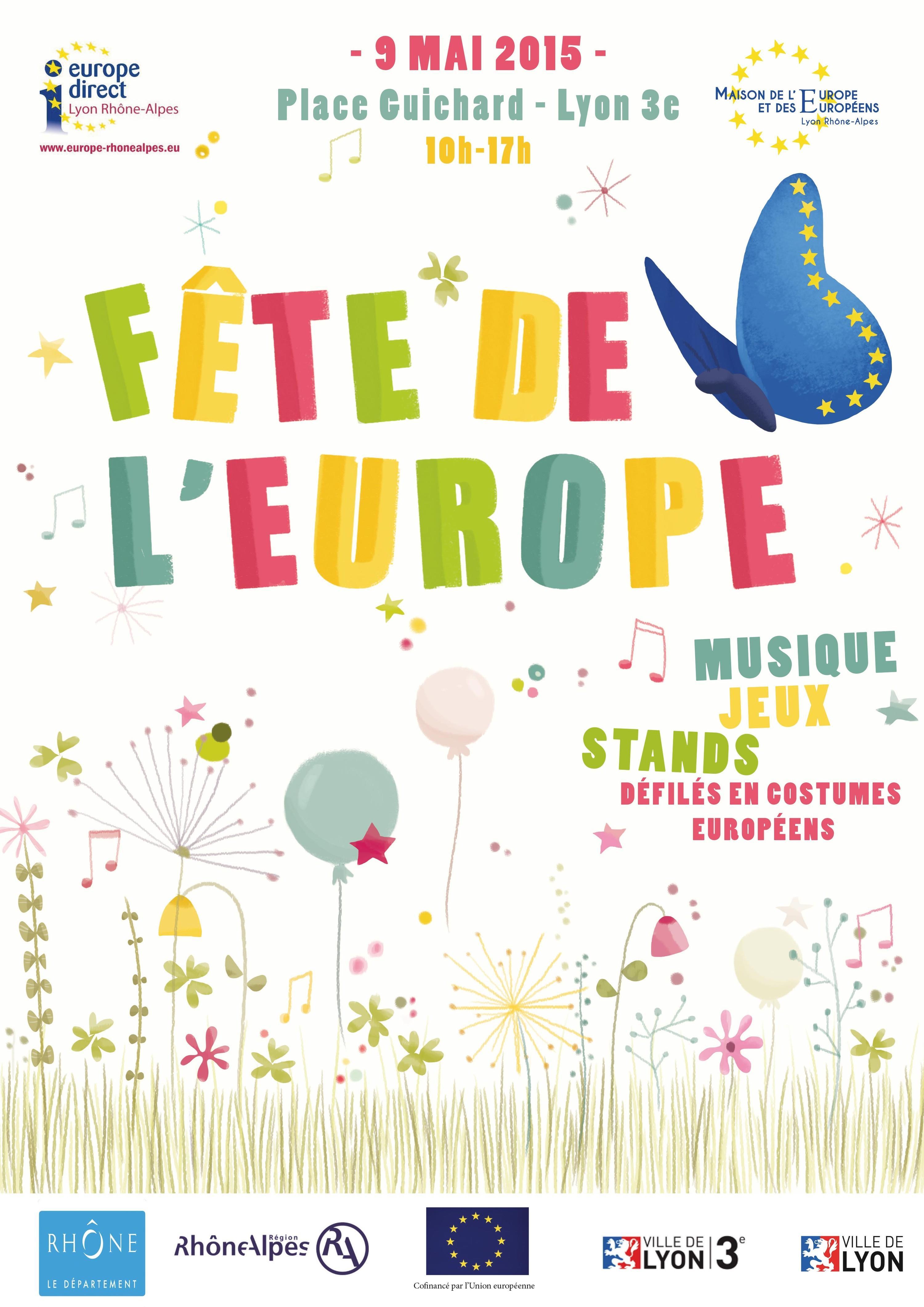 <stamp theme='his-green2'>Doc. 1</stamp> Fêter l'Europe à Lyon
