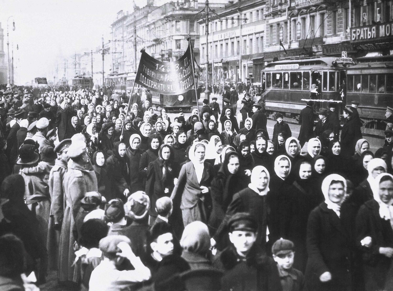 La fin du régime tsariste