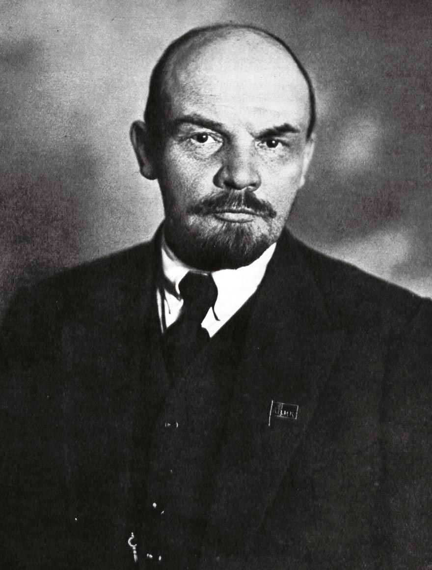 <stamp theme='his-green2'>Doc. 2</stamp> Lénine (1870-1924)