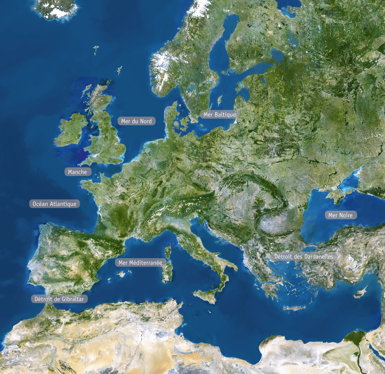 <stamp theme='his-green2'>Doc. 1</stamp> L'Europe vue du ciel